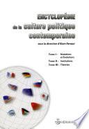 Encyclopédie de la culture politique contemporaine