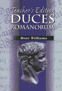 Duces Romanorum Book PDF