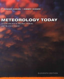 Meteorology Today + Mindtap Meteorology, 1-term Access