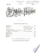 The Mount Holyoke