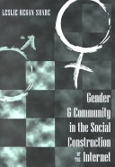 Gender   Community in the Social Construction of the Internet
