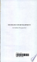 Sociology of Development (HB)