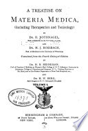 A Treatise on materia medica  including therapeutics and toxicology  v  1  1883