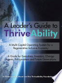 A Leader S Guide To Thriveability Book