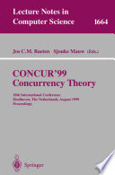 Concur 99 Concurrency Theory Book PDF