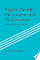 Export Credit Insurance and Guarantees