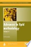 Advances in Lipid Methodology
