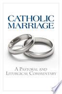 Catholic Marriage Book