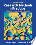 """Research Methods in Practice: Strategies for Description and Causation"" by Dahlia K. Remler, Gregg G. Van Ryzin"