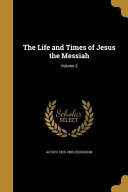 Life Times Of Jesus The Mess