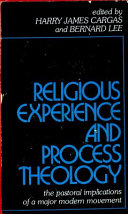 Religious Experience And Process Theology