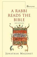 A Rabbi Reads the Bible