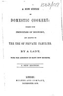 A new system of domestic cookery     A new edition