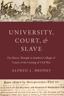 University  Court  and Slave
