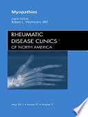 Myopathies  An Issue of Rheumatic Disease Clinics   E Book Book