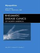 Myopathies  An Issue of Rheumatic Disease Clinics   E Book