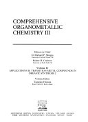 Comprehensive Organometallic Chemistry III