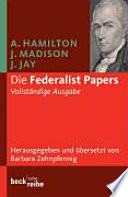 Die Federalist papers