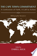 The Cape Town Commitment  A Confession of Faith  A Call to Action Book