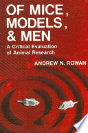 Of Mice  Models  and Men