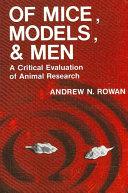Of Mice, Models, and Men Pdf/ePub eBook