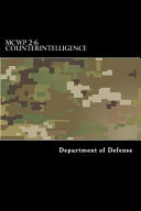 Mcwp 2 6 Counterintelligence