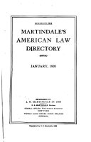 Martindale S American Law Directory
