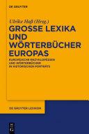 Große Lexika und Wörterbücher Europas: Europäische Enzyklopädien und ...