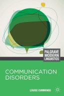 Communication Disorders