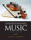 Understanding Music Book