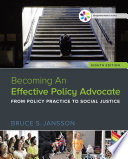Empowerment Series  Becoming An Effective Policy Advocate Book