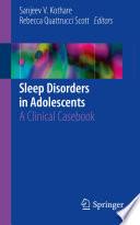 Sleep Disorders in Adolescents