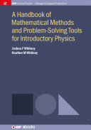 A Handbook of Mathematical Methods and Problem-Solving Tools for Introductory Physics Pdf/ePub eBook