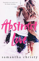 Abstract Love banner backdrop