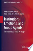 Institutions Emotions And Group Agents