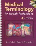 Cover of Medical Terminology for Health Professions