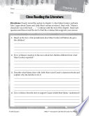 Roll of Thunder, Hear My Cry Close Reading and Text-Dependent Questions