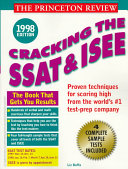 Cracking The Ssat And See 1998 Book PDF