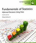 Fundamentals of Statistics Book
