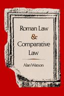 Roman Law & Comparative Law