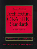 Architectural Graphic Standards, 1998 Cumulative Supplement
