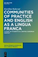 Communities of Practice and English as a Lingua Franca Pdf/ePub eBook