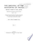 The Recuyell of the Historyes of Troye