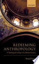 Redeeming Anthropology Book PDF