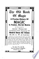 The Old Book of Magic Book