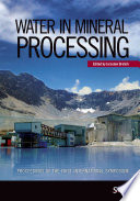 Water in Mineral Processing
