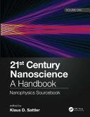 21st Century Nanoscience   a Handbook Book