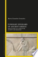 Funerary Epigrams of Ancient Greece