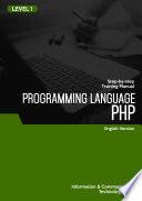 PHP PROGRAMMING LANGUAGE LEVEL 1