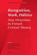 Recognition, Work, Politics
